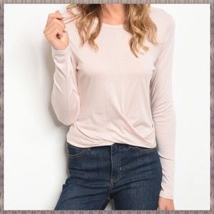 NEW! FRONT TWIST TOP IN SMALL, MEDIUM AND LARGE